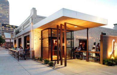 Mặt bằng mở quán cafe