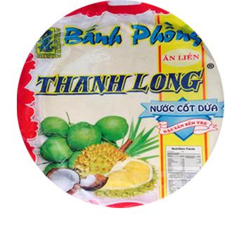 Bánh phồng sữa nước cốt dừa Thanh Long (Bịch 10 bánh)