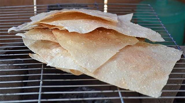 Bánh tráng mỹ lồng bến tre
