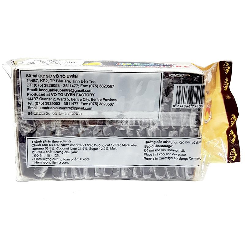 Kẹo chuối tươi Bến Tre