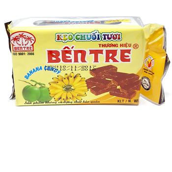 Kẹo chuối tươi thương hiệu Bến Tre