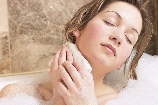 Xà bông dừa bến tre dùng để tắm trắng