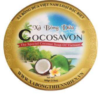 Xà bông dừa làm sáng da 100gram